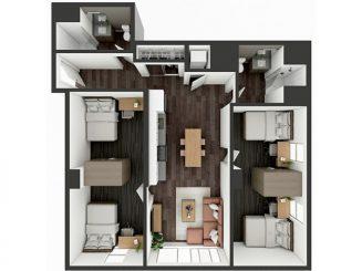 B5 Shared Floor plan layout