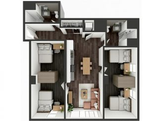 B5 Shared Floor plan layout