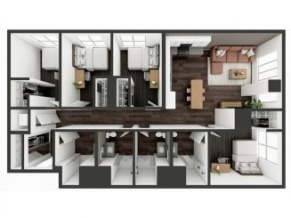 D5 Floor plan layout