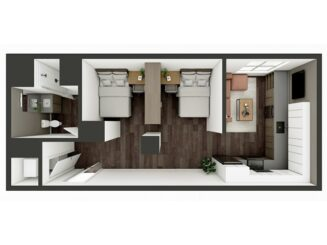 S3 Shared Floor plan layout