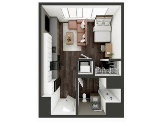 S1 Floor plan layout