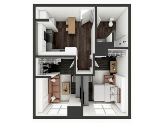B1 Murphy Floor plan layout