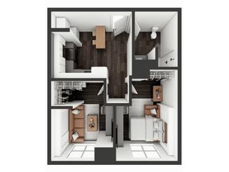 A1 Deluxe Floor plan layout