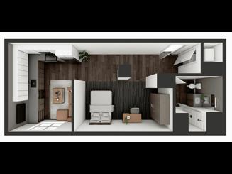 S3 XL Floor plan layout