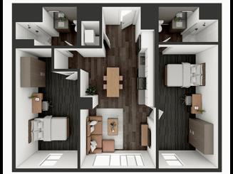 B3 XL Floor plan layout